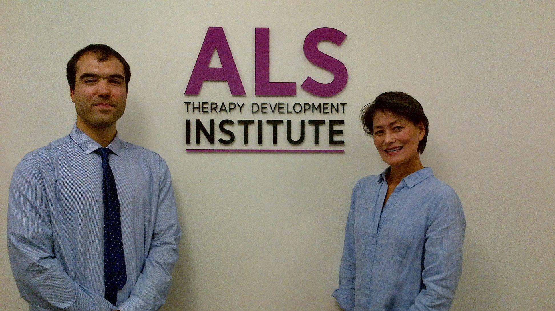Associazione ConSLAncio visita L'ALS Therapy Development
