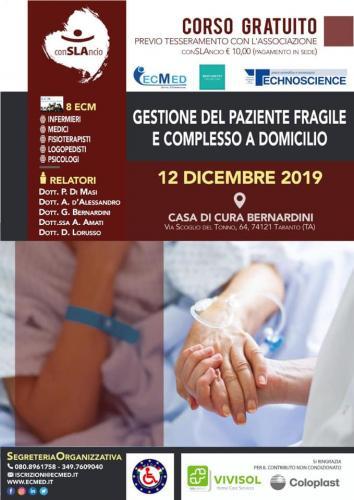 Corso caregiver a Taranto